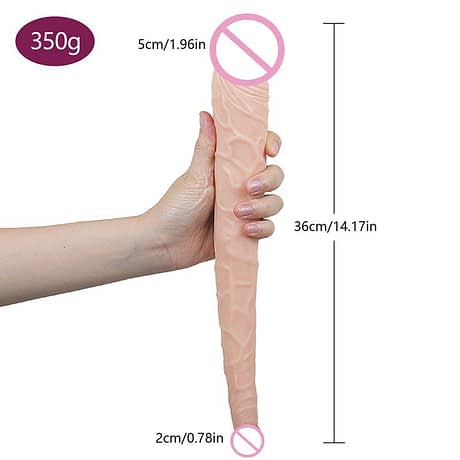 tadpole-Double-glans-Extra-long-Dildos-Realistic-Bullet-Vibrator-kin-Feeling-Realistic-Penis-Soft-Masturbator-Sex-5.jpg
