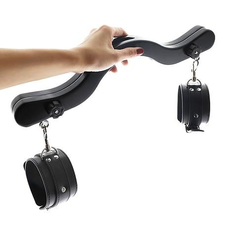 CBT-Ball-Smasher-Crusher-Wood-Humbler-Cock-Ball-Torture-Humbler-With-Ankle-Cuffs-BDSM-Ball-Stretcher-3.jpg